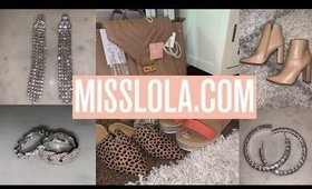 Miss Lola Shoes & Accessories Haul | Plus Size Clothing 2020