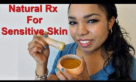 DIY Turmeric Sensitive Skin Treatment  - Ms Toi