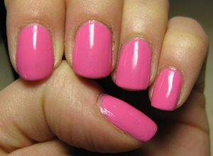 My first Sinful Colors Polish... not likiin'g it a lot...