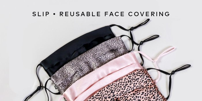 Shop SLIP's Reusable Holiday Face Coverings on Beautylish.com