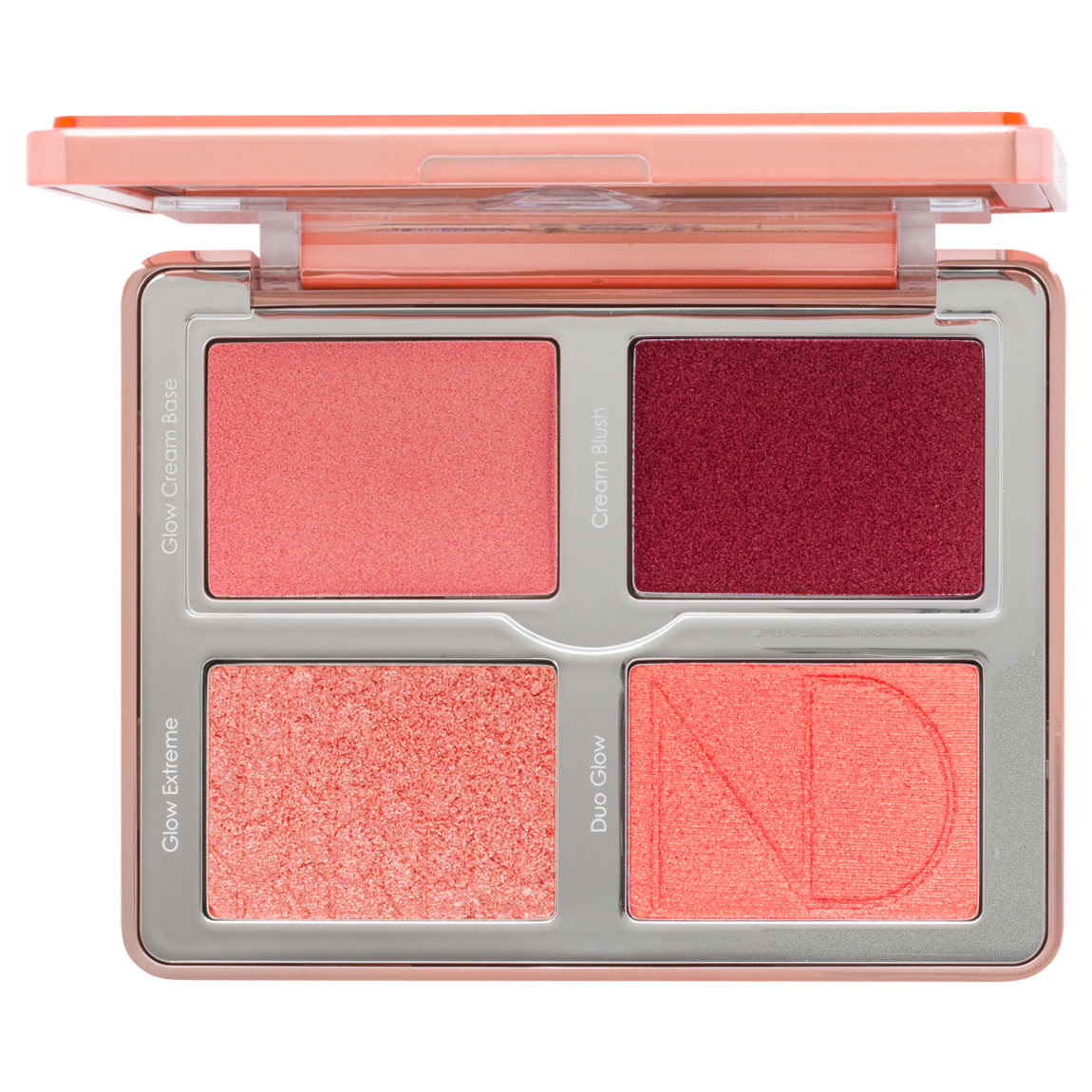 Natasha Denona Bloom Blush & Glow Palette product smear.