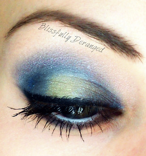 I used My Beauty Addiction for the shadows in Monaco Blue, African Violet, Tender Shoots, and Linen