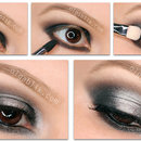 Black & Silver Dramatic Smokey Eye