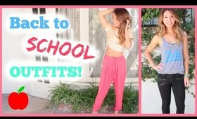 Back To School Outfits!
