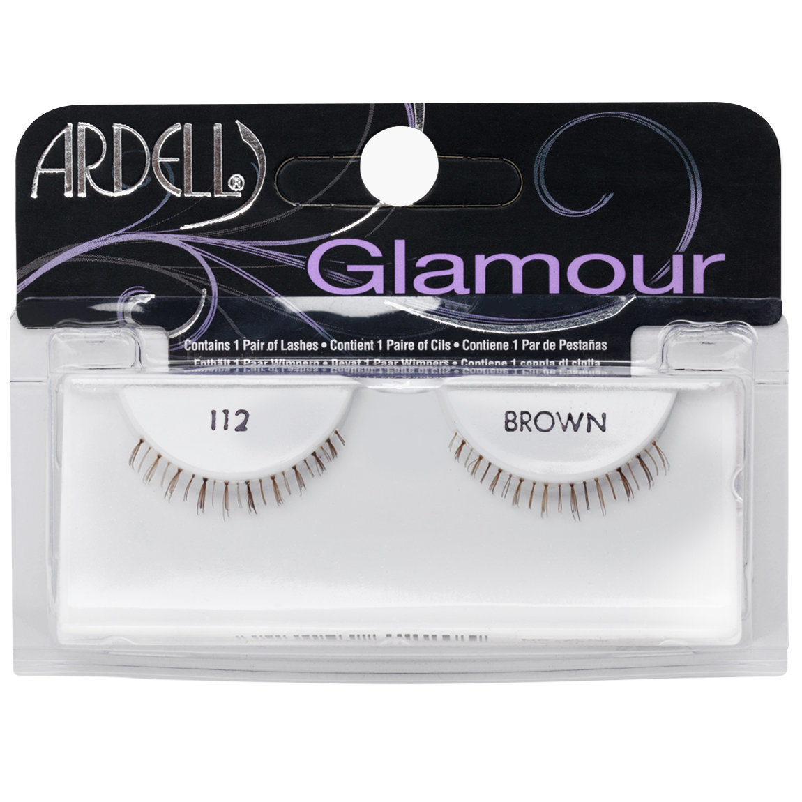 Ardell Glamour Lashes 112 Brown