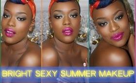 BRIGHT & SEXY Summer Makeup