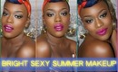 BRIGHT & SEXY Summer Makeup