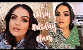 Warm Holiday Glam Makeup Chit Chat GRWM