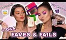FAVE AND FAILS WITH EXTERIORGLAM + Q&A | Maryam Maquillage