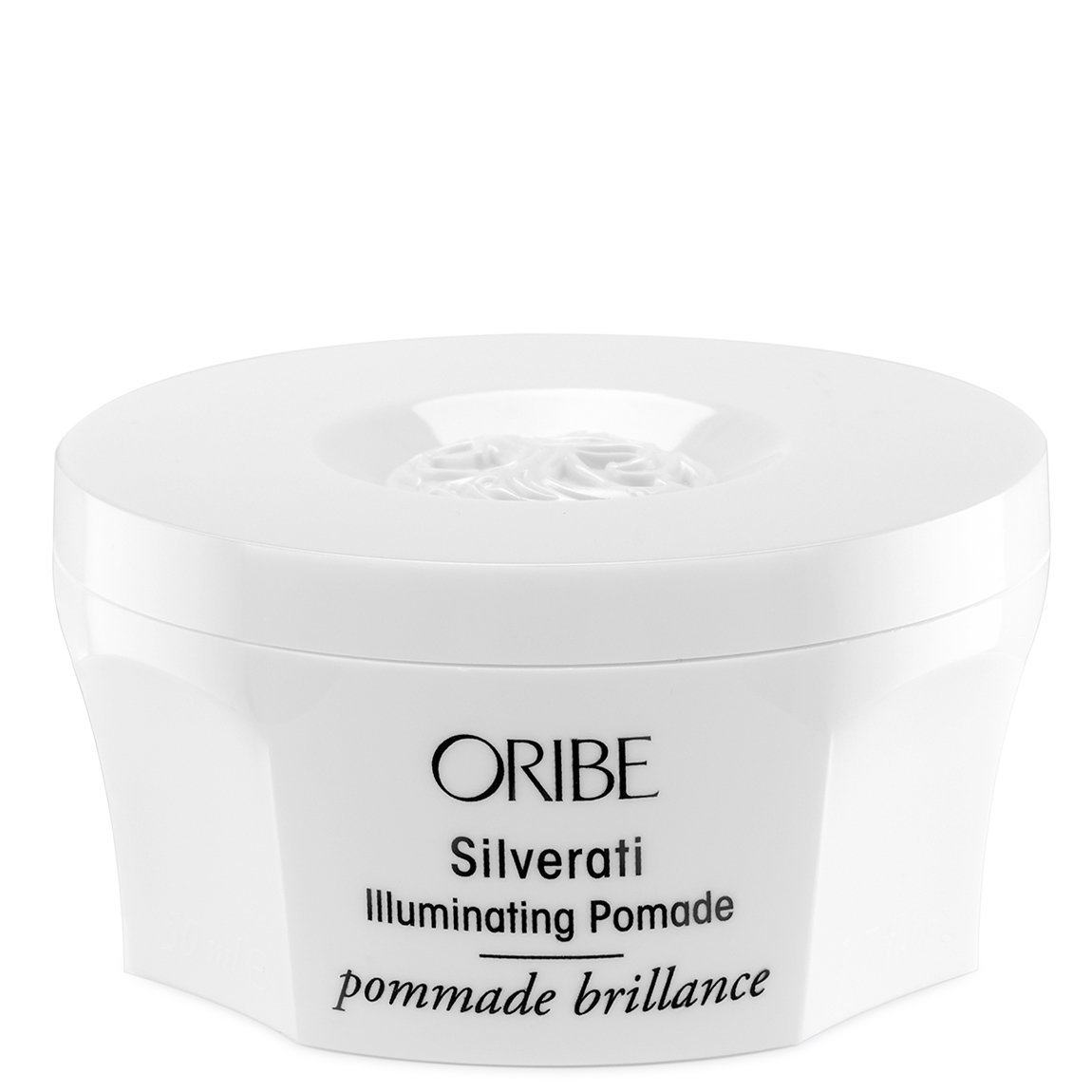Oribe Silverati Illuminating Pomade product swatch.