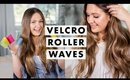 Loose Waves with Velcro Rollers
