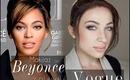 ** Podwójna kreska Beyonce z okładki Vogue **