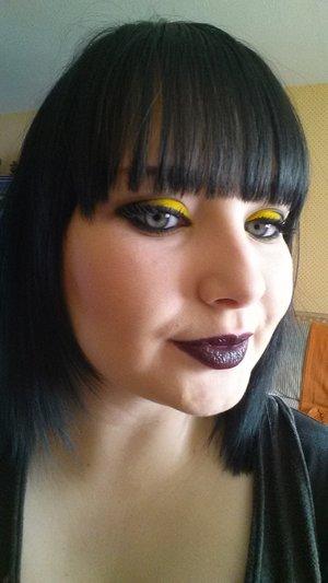 Mac Cyber with illamasqua eyeshadow on Hype