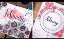 February 2019 ART JOURNAL SETUP + IDEAS  | ANN LE