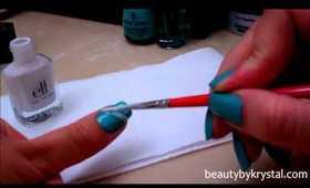 Tiffany & Co. Inspired Nail Tutorial