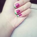 watermelon nails!