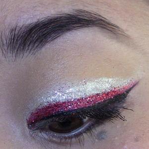 double glitter liner :)
