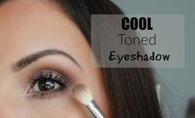 Cool Toned Eyeshadow Tutorial