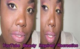 YouTube Beauty Inspired Recreation: ft Tamekans