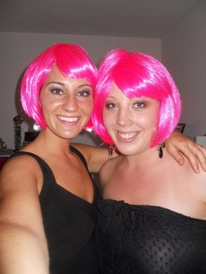 My cousin Theresa and friend Meredith
