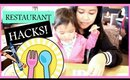 Restaurant Dining Tips and Must-Haves for Toddlers | #MOMHACKS
