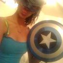captain America look!!