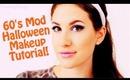 60's Mod Halloween Makeup Tutorial! ♡