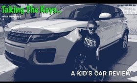 Taking The Keys Episode 2 | A Kid's Car Review | Range Rover Evoque | Land Rover