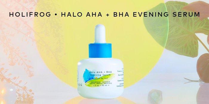 Shop HoliFrog Halo AHA + BHA Evening Serum on Beautylish.com