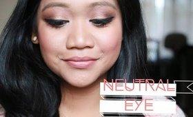NEW! Neutral Eye Look   LearnWithMinette