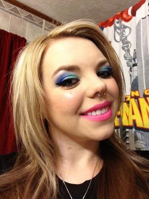 Beautiful sugarpill heartbreaker palette & MAC lipstick in candy yum yum :)
