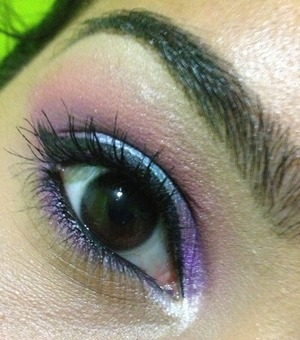 BH COSMETICS 4th Edition Palette ^_^ was used to create this look