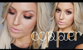 GRWM ♡ Copper Orange Eyes, Curly Hair & Outfit Of The Day!