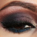 Plum Smokey Eyes