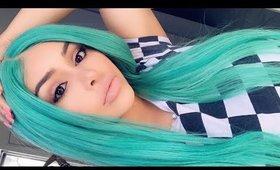 I Dyed my hair GREEN | JULIAHAIR