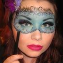 Hand drawn Masquerade Mask!