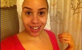 DIY--Easy face mask for OILY, ACNE PRONE SKIN! PhillyGirl1124 on YouTube & Instagram