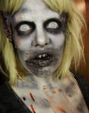 Halloween Look 2011- The Living Dead.