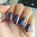 Deep Space Galaxy Nails