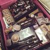 Just a bit of makeup