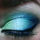 Mermaid inspired look