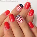 Americana Nail Art