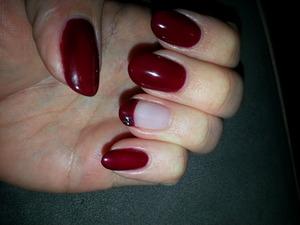 black cherry gel polish