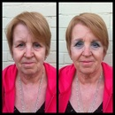 Mature Makeup Before and After