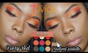 FIERY RED FESTIVAL PALETTE TUTORIAL