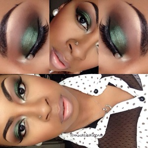 Check out the tutorial for this look on my youtube channel at www.youtube.com/beautysosweet08 :)