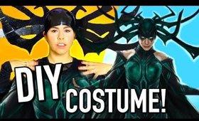 DIY Halloween Costumes 2017: Marvel Hela costume!!!