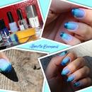 Dègradè nail art