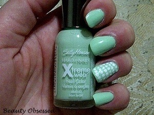 MINT SORBET WITH DOTS