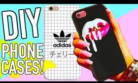 DIY phone case ideas you need to try! Tumblr inspired!